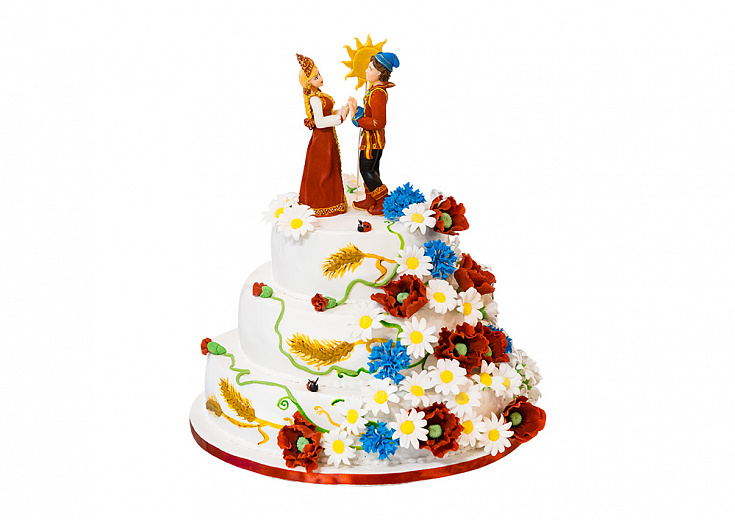Торт «Русская сказка»